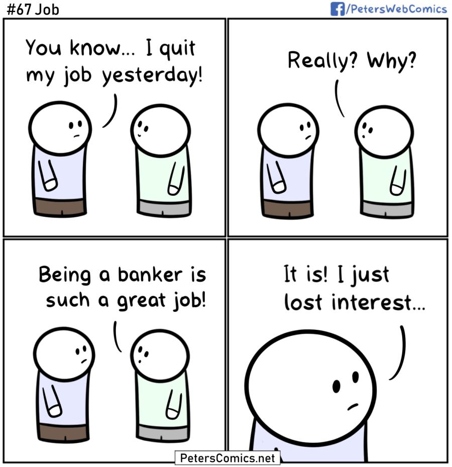 job punny funny comic